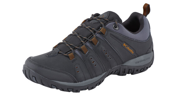 Columbia Peakfreak Nomad Shoes Men black / goldenrod